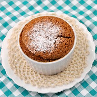 チョコレートスフレ