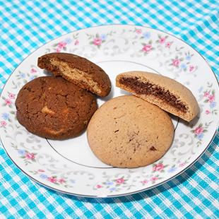二層のソフトクッキー